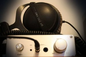 audio headphone amplifier