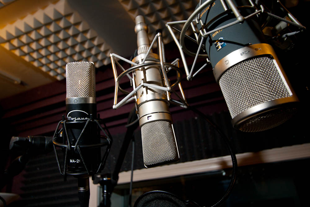 Types of Microphones and their uses