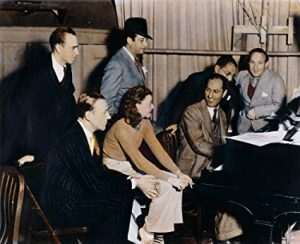 Fred AStaire, Ginger Rogers and George Gershwin