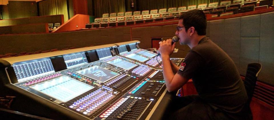 Ashwin Shetty Audio Academy Engineer