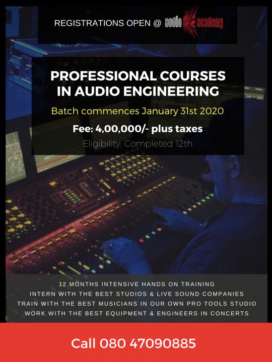 Sound Engineering Bangalore