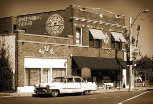 Sun Records Building in Memphis